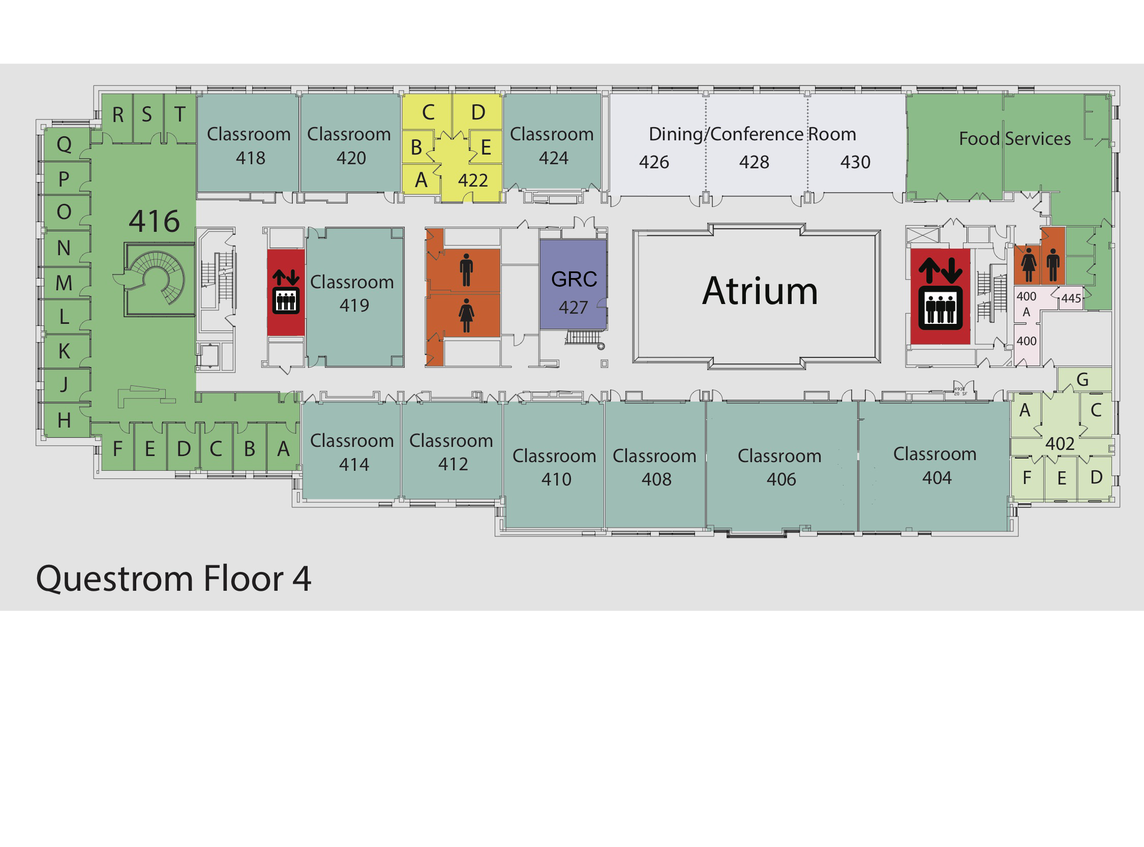 Bu questrom maps for On the floor on the floor