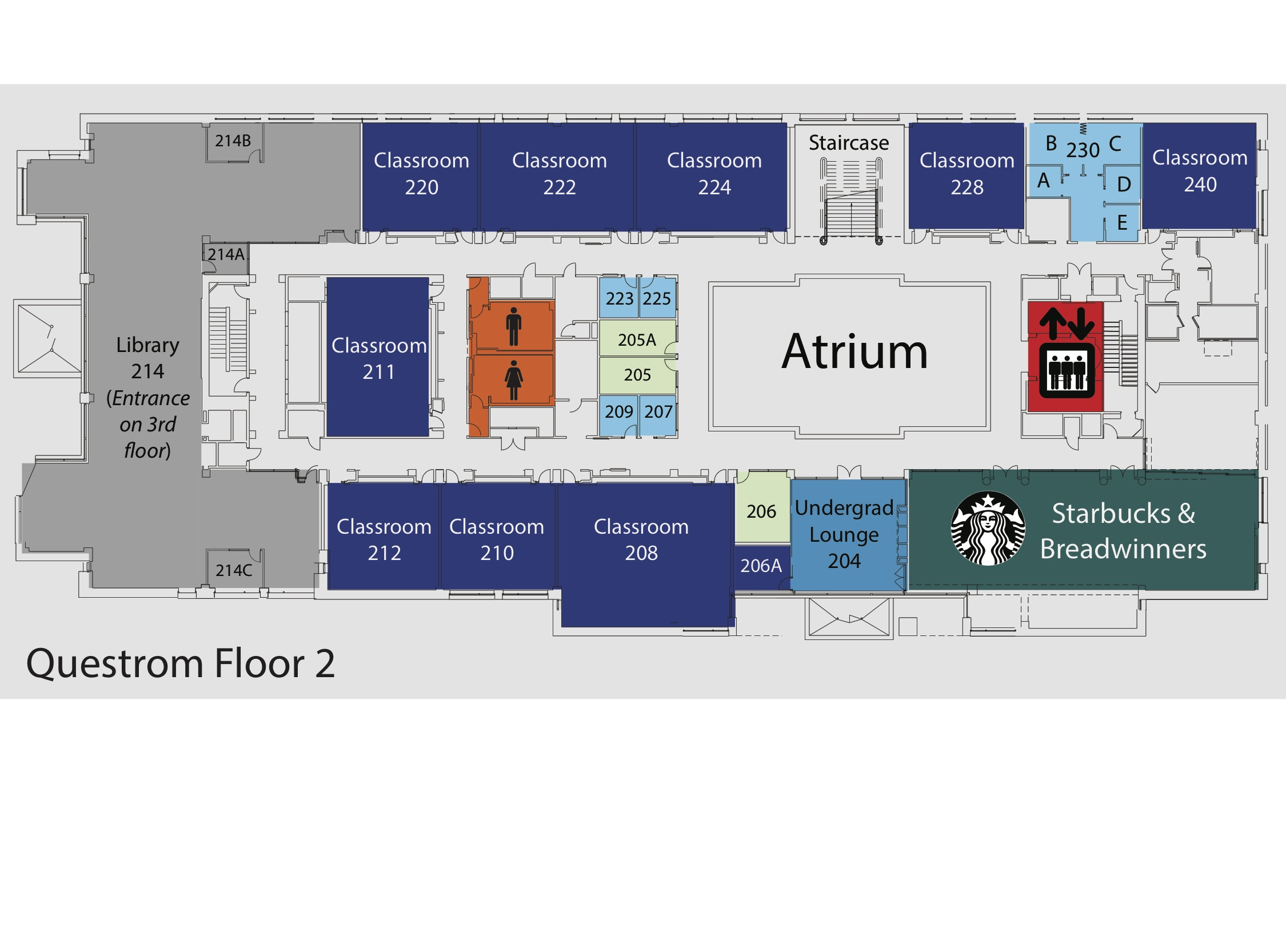 Maps595 on First Floor Second